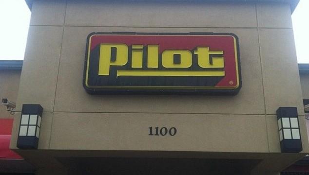 pilot gast station, road trip